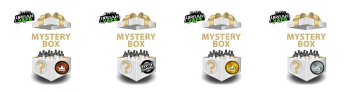 e liquid mystery box