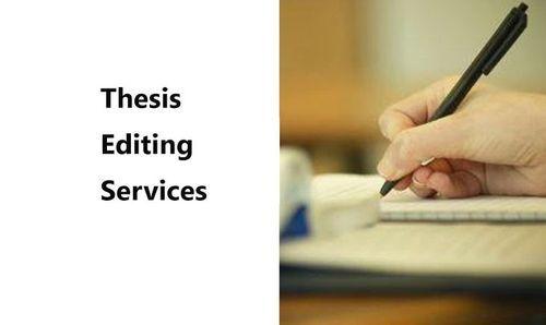 Thesis Editing Uk