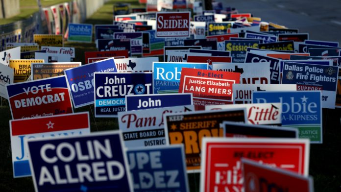 How Different Campaign Signs Can Work For Political Candidates