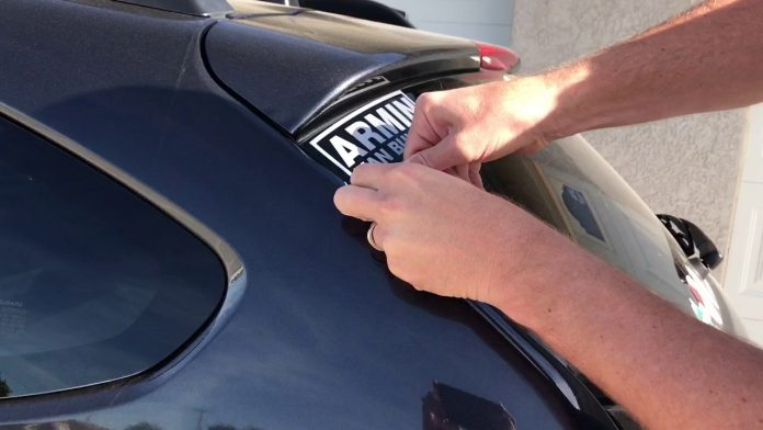 How to Remove Car Stickers without Damaging the Paint?