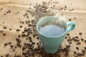 caffeinated coffee